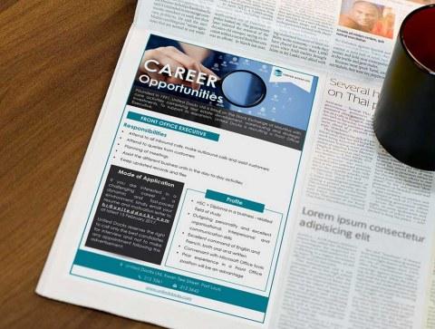 Zethical Ltd - Newspaper ads